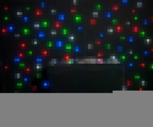 Mixing Color RGBW LED Star Curtain