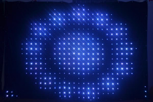 P9 3*6M LED Vision Curtain