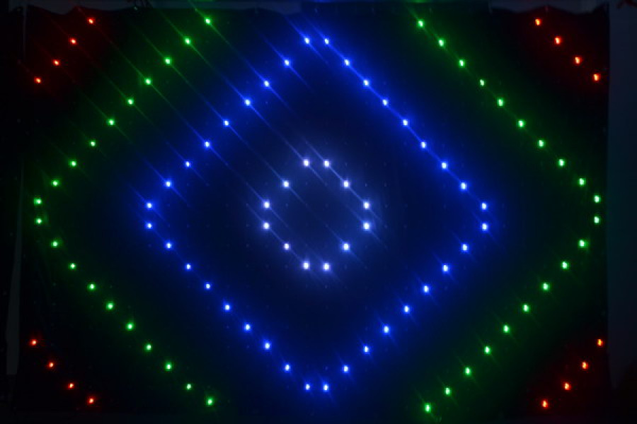 LED Vision Cloth