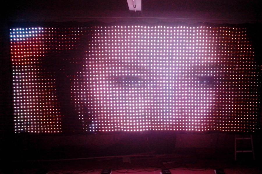 Amazing ... P6 LED Vision Curtai ...