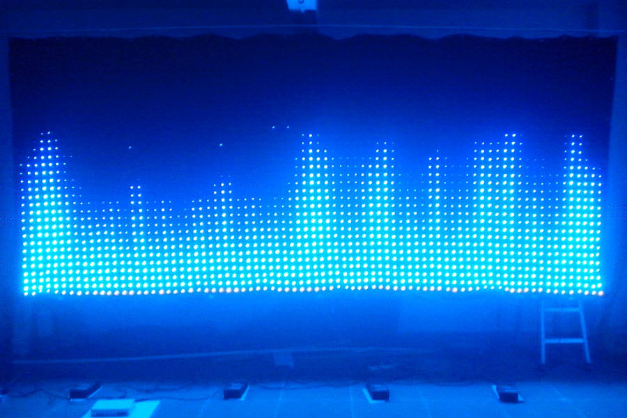 P6 2 3m led vision curtain led motion drape led video for Curtain creator software