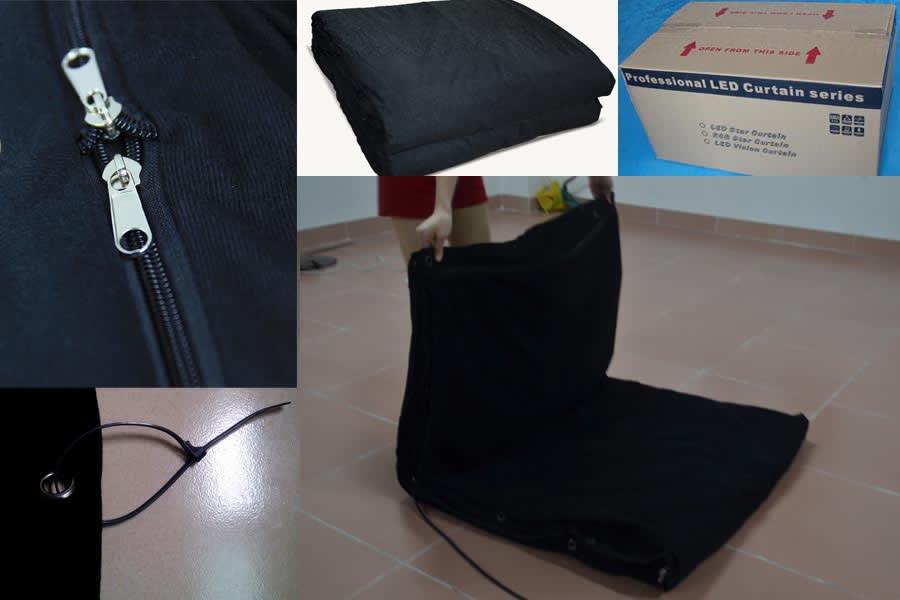 Fold LED screen