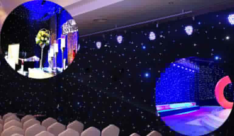 KHX LED STAR CURTAIN