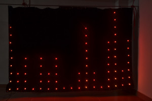 LED flod screen