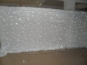 6*4M Wedding backdrop Single Color white LED Star Curtain