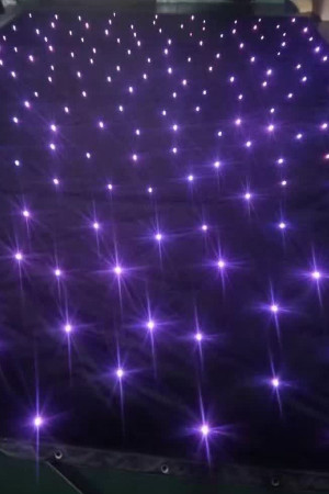 4*8M LED Tri Star Curtain