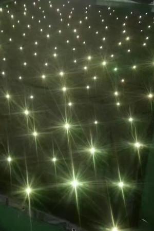 3*8M LED Tri Star Curtain