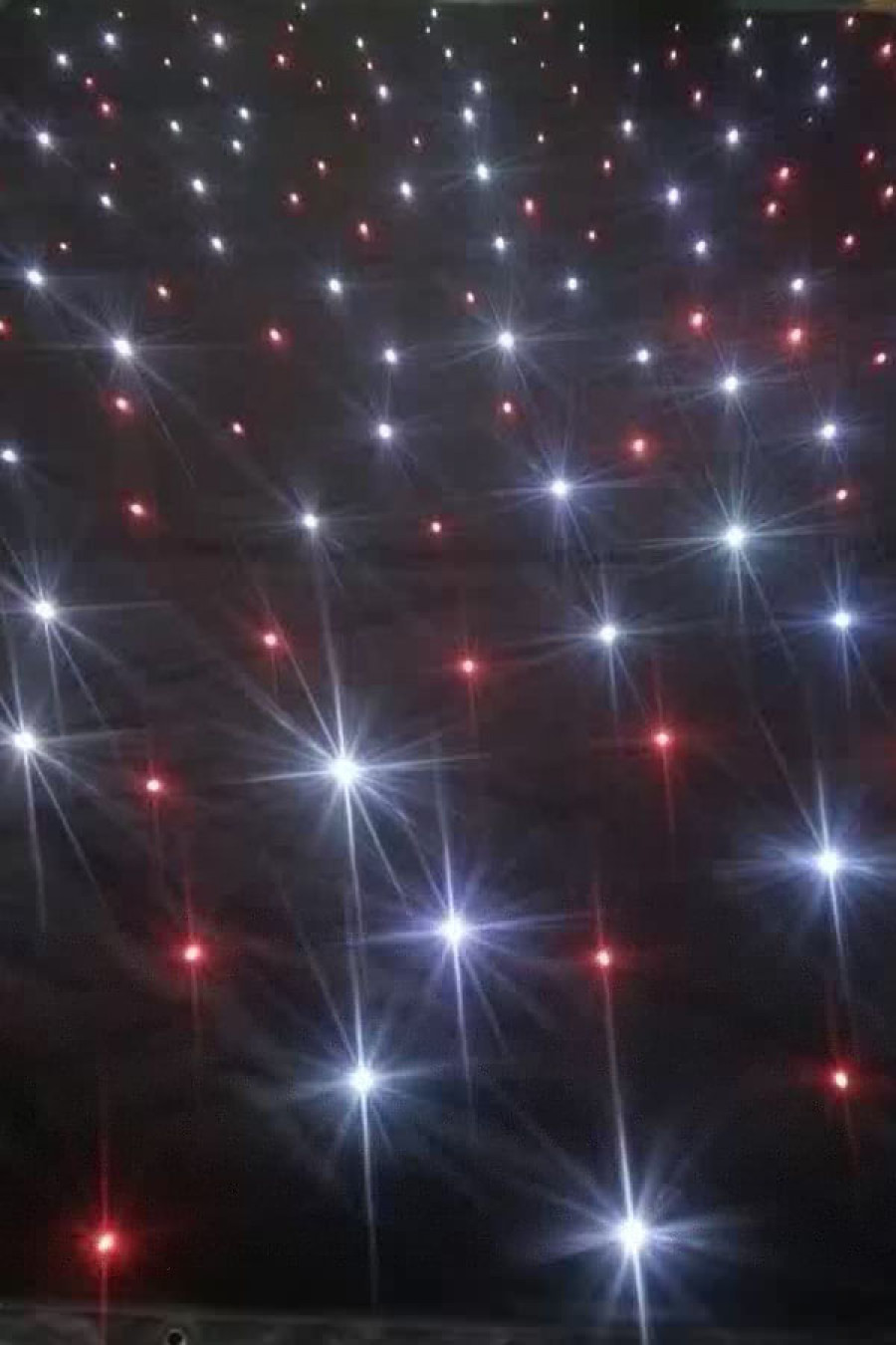 LED Twinkling Star Curtain
