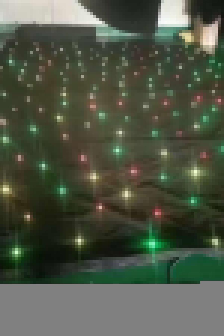sparkliteled drape,3*6M LED Tri Star Curtain, led backdrop